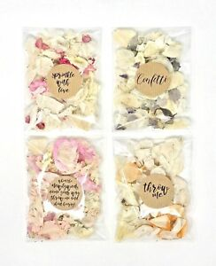 Sprinkle-Me-WEDDING-CONFETTI-Real-Dried-Petal-Packets-Biodegradable-Flutter-Fall