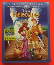 Hercules (Blu-ray/DVD/Digital HD, 2014) NEW w/ Slipcover; Disney