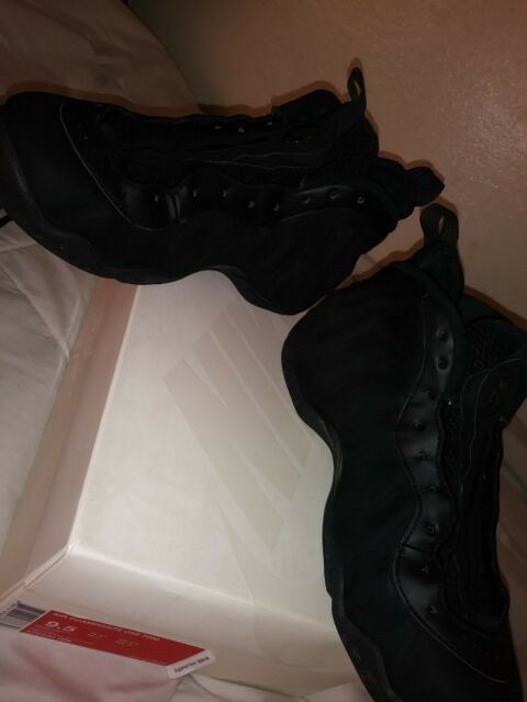 9fbed7392ca Frequently bought together. Nike Air Foamposite One PRM Triple Black Suede  ...