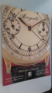 Catalogue Di Vendita Herve-Chayette-Calmels Orologio Drouot-Montaigne 1991 Be
