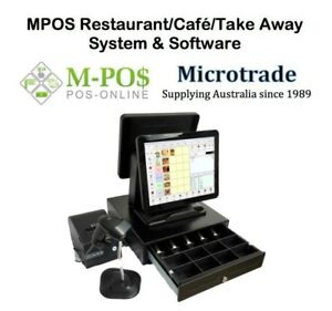 Dual-15-034-Point-of-Sale-System-Restaurant-POS-Software-Printer-Cash-Drawer-etc
