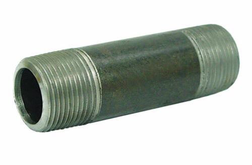 B/&K Mueller 3//4in MPT  x 3//4in Dia x 12in L MPT Galvanized Steel Pipe Nipple