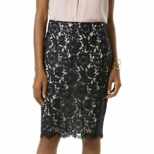 Initiative New W Tag Vince Camuto Lace Pencil Skirt Size 12 Msrp $99 Hot Sale 50-70% OFF