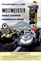 Vintage 1960 Grand Prix Of Germany Auto Racing Poster Print 36x24