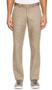 Bloomingdale's The Men's Store Cotton Regular Fit Pants, Size 34X30, MSRP