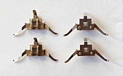 Fleischmann H0 00614954 Radkontakt für Innenbeleuchtung 4 Stück NEU