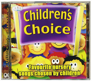 Children-039-s-Choice-CD-Favourite-nursery-songs-and-rhymes-chosen-by-kids-NEW