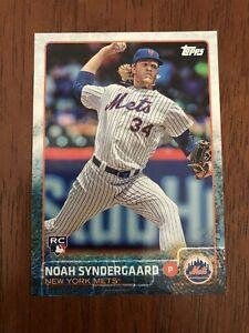 2015-Topps-Update-US157-Noah-Syndergaard-New-York-Mets-Rookie-Card-RC-Mint