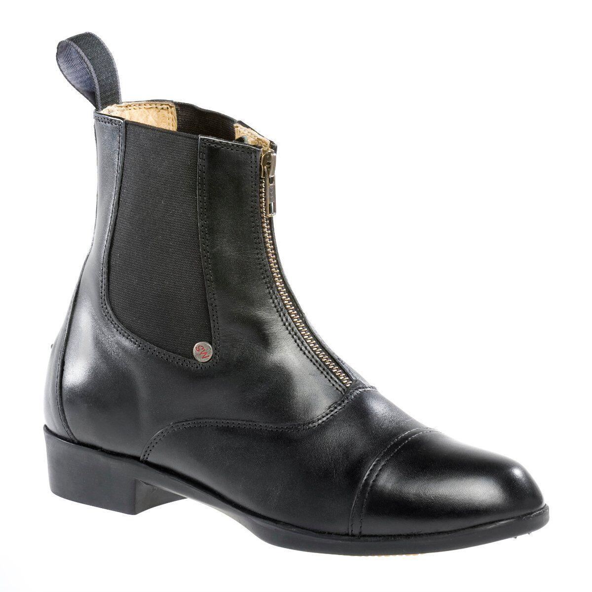 SUEDWIND Stiefel Boston Advanced schwarz Lederstiefel Premiumstiefel Reitstiefel