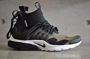 online store 09bca 8bfd4 Image is loading Nike-Air-Presto-Mid-x-Acronym-034-Olive-