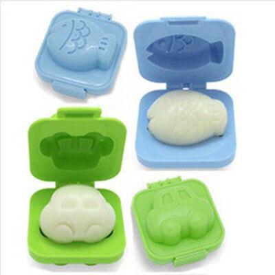 Hot Boiled Egg Rice Sushi Mold Bento Maker Sandwich Cutter Decorating Mould CN