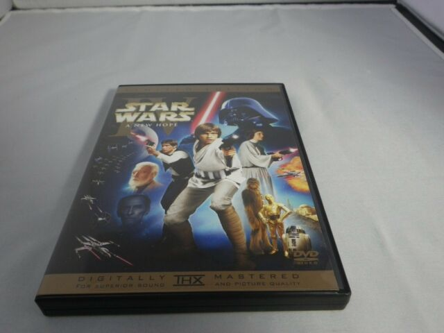 Star Wars Episode Iv A New Hope Dvd 2disc Limited Edition From Japan Used For Sale Online
