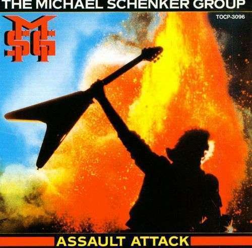 The Michael Schenker Group - Assault Attack NEU LP