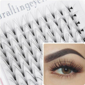 418bdcdabf6 New 16 Lines 10D Premade Russian Volume Lash Fan Pre Fanned Fake Eye ...