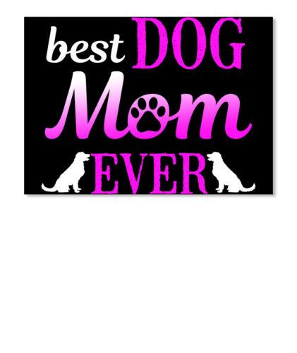 Landscape Details about  /Best Dog Mom Ever Sticker