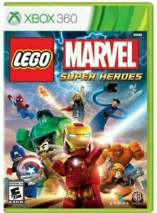 Lego-Marvel-Super-Heroes-Microsoft-Xbox-360-Game-Authentic