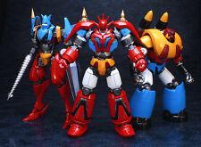 Fewture EX Gokin Getter Dragon+Liger+Poseidon action figure