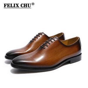 Dress Shoes Real Leather Lace up