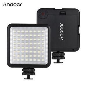 Andoer-LED-64-USB-Video-Light-Hot-Shoe-Panel-Lamp-Dimmable-For-Canon-Nikon-GG