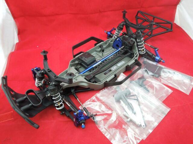 Traxxas Slash 4x4 LCG 4wd Roller Chassis Custom Upgrades