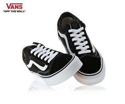 Vans Old Skool Schwarz Leinwand Skate Street Style Fashion Sneakers, Schuhe Herren | eBay