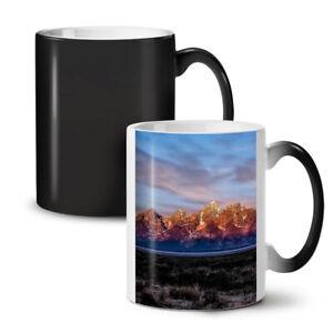 Mountain Sunset Nature NEW Colour Changing Tea Coffee Mug 11 oz | Wellcoda