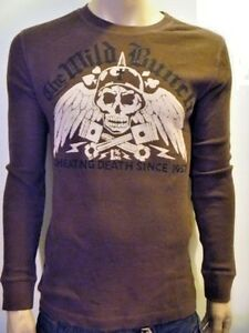 LUCKY-BRAND-Men-Vintage-Waffle-Thermal-Graphic-Tee-shirt-NwT-S-M