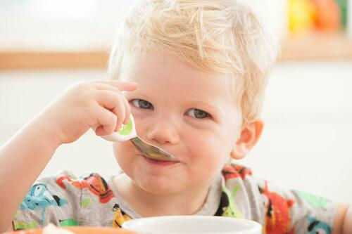 Doddl Verde 3 Pieza Niño Niños pequeños Cubiertos Cuchillo Tenedor Cuchara de ayuda a la formación.