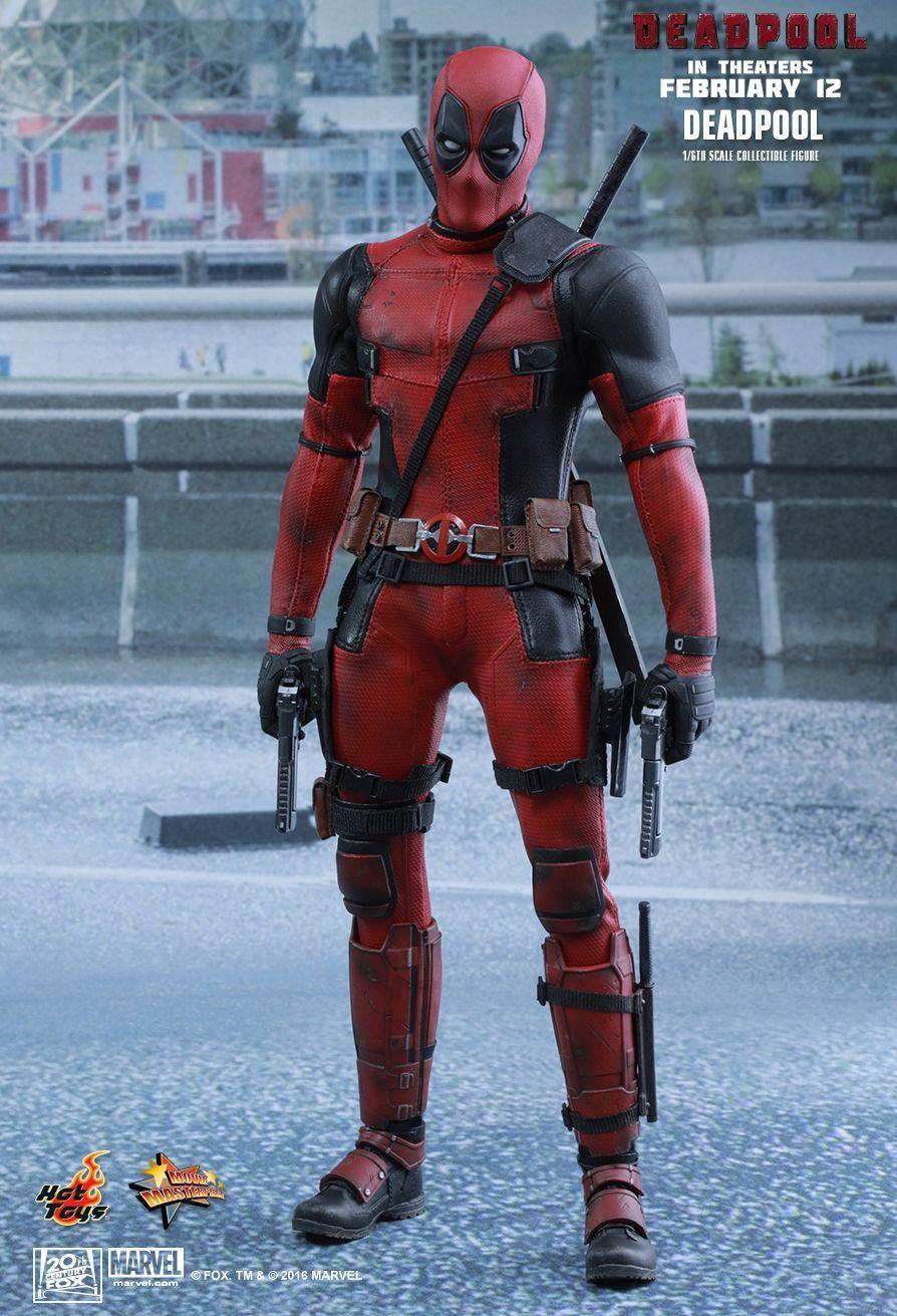 heta leksaker Staty - förundras - Deadpool - Movie Masterpiece - Figur