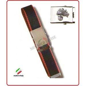 ricco e magnifico vendita di liquidazione vendita calda reale Cintura Canapa Bicolor Con Placca In Rilievo Carabinieri ...