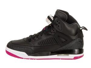 bdd2920ce4af32 Air Jordan Spizike GG   535712 029 Black Deadly Pink Girls SZ 4 ...