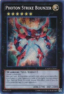 YuGiOh Tardy Orc GAOV-EN085 Unlimited Edition Moderately Playe Secret Rare