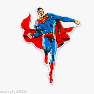 Superman Cake Topper Marvel Super Hero Birthday Party Supplies Decorating Ebay