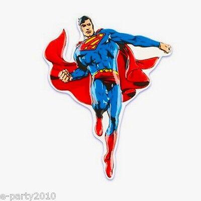 SUPERMAN CAKE TOPPER ~ Marvel Super Hero Birthday Party ...