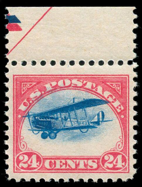 momen US Stamps #C3 Mint OG NH HIGH PLANE PSE Graded 85