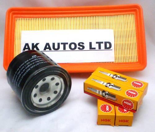 Para Hyundai Matrix 1.8 I 2001 /> 3pc Kit De Servicio De Aceite De Aire Y Bujías