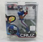 McFarlane NFL Football Victor Cruz, Blue Jersey, Series 31 New York Giants