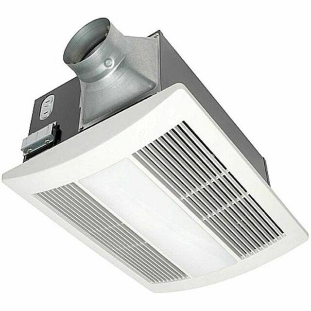 Panasonic Fv 11vhl2 Whisperwarm 110 Cfm Ceiling Exhaust Fan With Light Heater For Sale Online Ebay