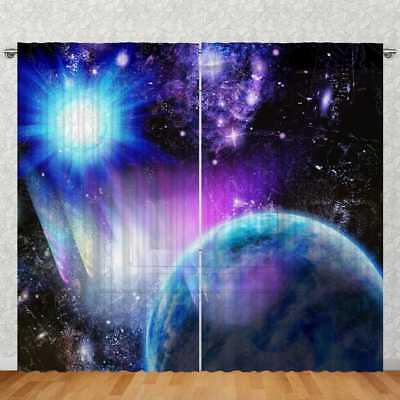 "Tenda 2 Pezzi 270x245cm Nascoste Cinghie Transpar. ""planet Sole Azzurro""-ine Motiv Digitaldruck "" Data-mtsrclang=""it-it"" Href=""#"" Onclick=""return False;""> Famoso Per Materie Prime Di Alta Qualità, Gamma Completa Di Specifiche E Dimensioni E Gran"