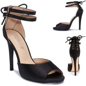 womens ladies high heels sandals new wedding party dress