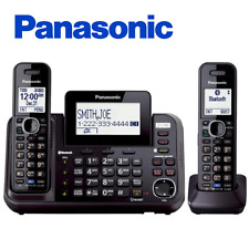 Panasonic KX-TG9542B Link2Cell 2-Line Cordless Phone- 2 Handset