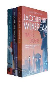 Jacqueline-Winspear-3-Books-Maisie-Dobbs-Mystery-Detective-Thriller-In-Order-New