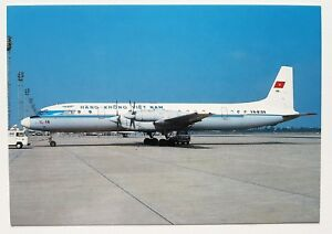 Hang-Khon-Viet-Nam-Ilyushin-IL-18D-Postcard