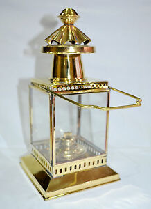 "10"" BRASS LIGHTHOUSE LANTERN ~ SHIP LAMP ~ MARITIME ~ NAUTICAL HOME DECOR"