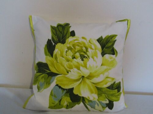 Designers Guild floral 100/%Cotton Fabric Charlottenberg Charteuse Cushion Cover