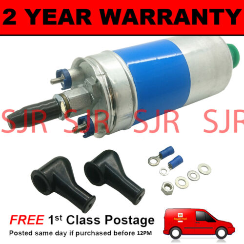 HIGH POWER 255 LPH IN-LINE OUTSIDE TANK FUEL PUMP FOR FORD GRANADA 2.8 1977-1985