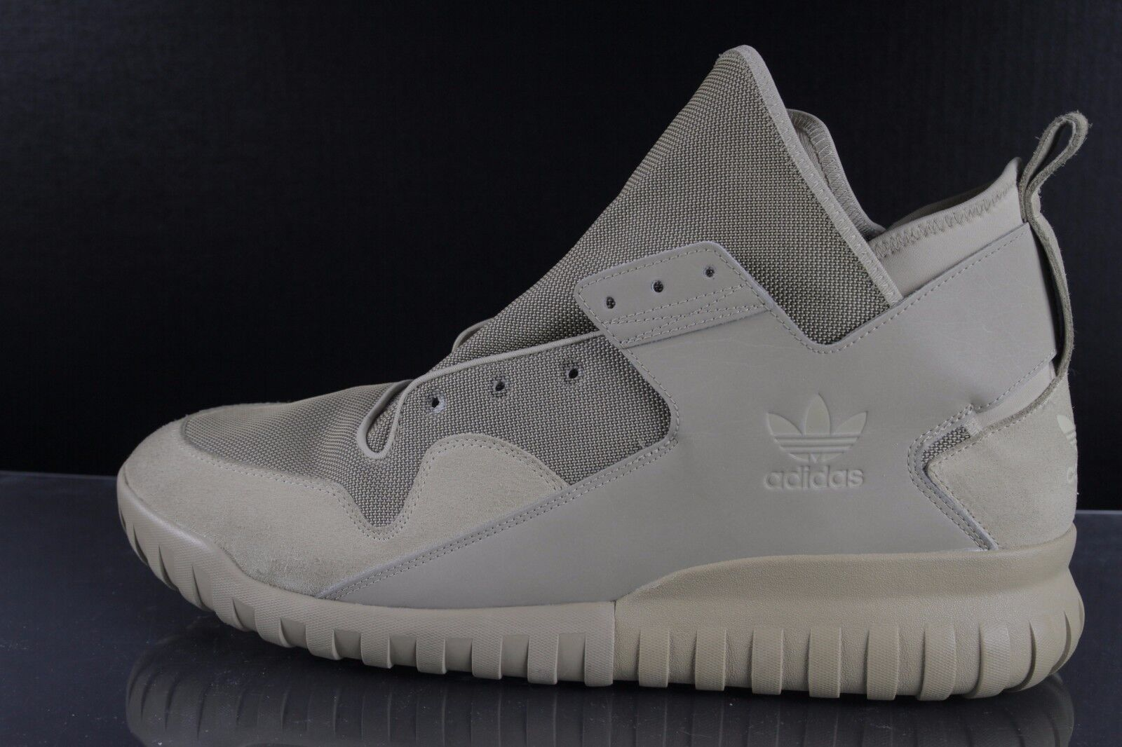 adidas Reflective Originals Tubular X Overlay Hemp Mesh S74923 Men's US 19 ANB