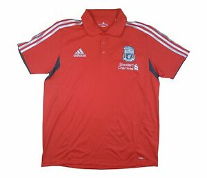 Liverpool 2011-12 Authentic Polo (eccellente) L soccer jersey
