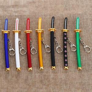 Anime-Naruto-Jewelry-Zoro-Katana-Buckle-Game-Model-Sabre-Samurai-Sword-Keychain