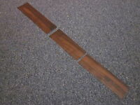 1972 Cutlass 442 Console Wood Grain Trim For Models With 4 Speed Transmission